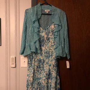 Dress and shrug set